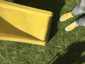 Gänseblümchen Sonnenschein Rutsche DIY18