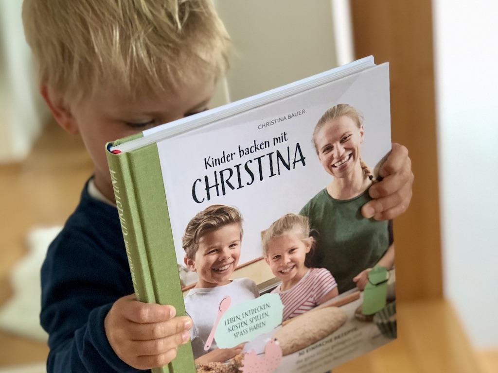 Kinder backen mit Christina - das Buch