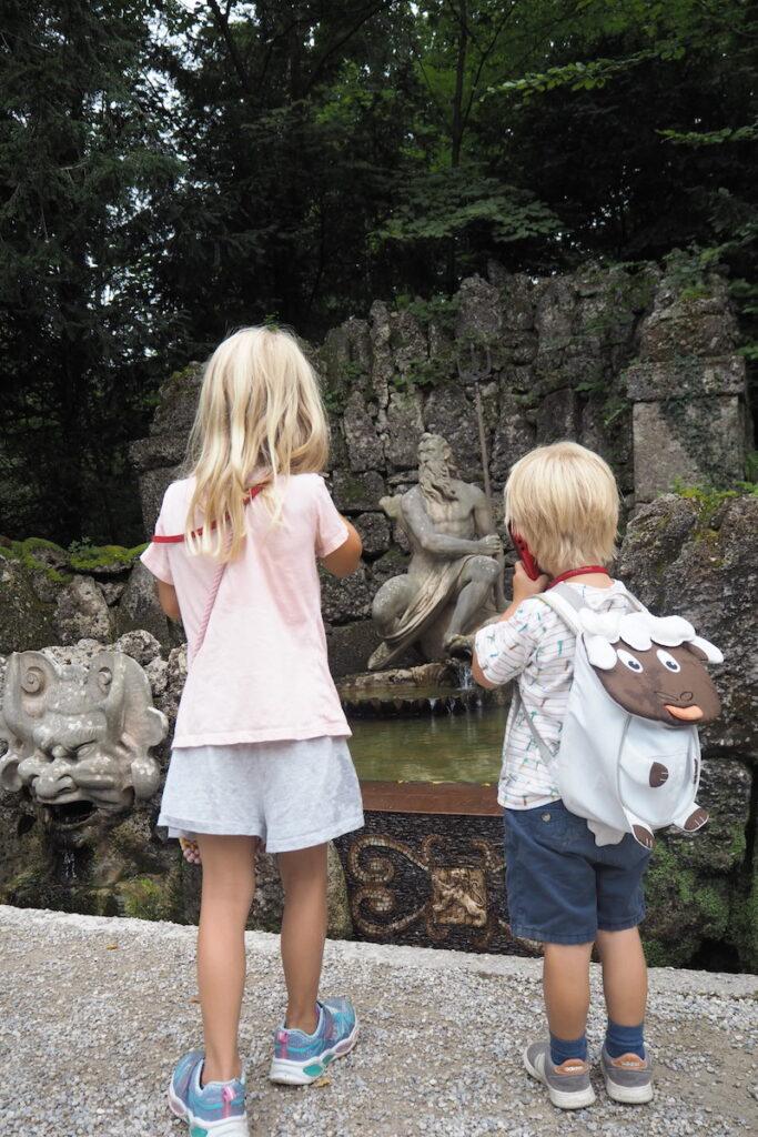 111 Orte für Kinder Salzburg Gaisberg Wasserspiele Hellbrunn