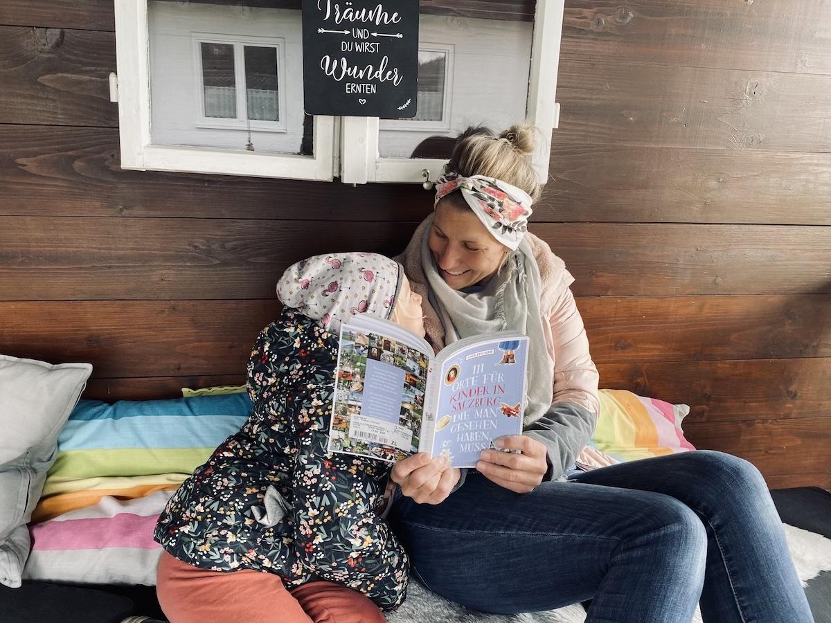 Autorin Anja Fischer, 111 Orte für Kinder Salzburg